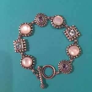 Jewelry - Sterling Silver Bracelet Gem Artisan Collection